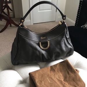 ✨SALE!✨Authentic!✨Gucci Large Abbey Leather Bag